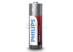 Baterie Philips Power Alkaline (PowerLife) AAA LR03P4B/10 (mikrotužka) (blistr 4ks)