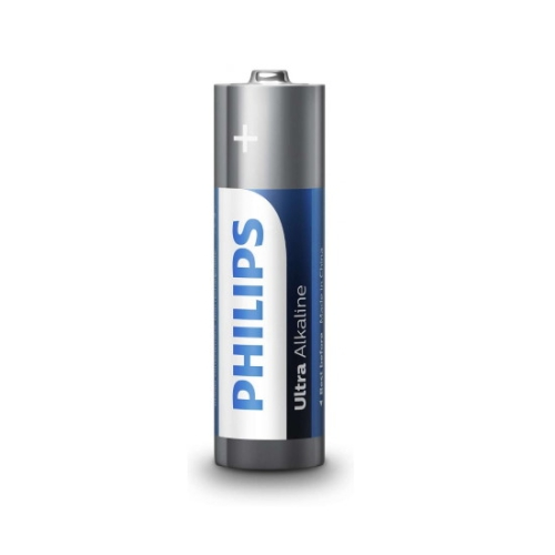 Tužkové baterie AA Philips Ultra Alkaline LR6 E4B alkalické