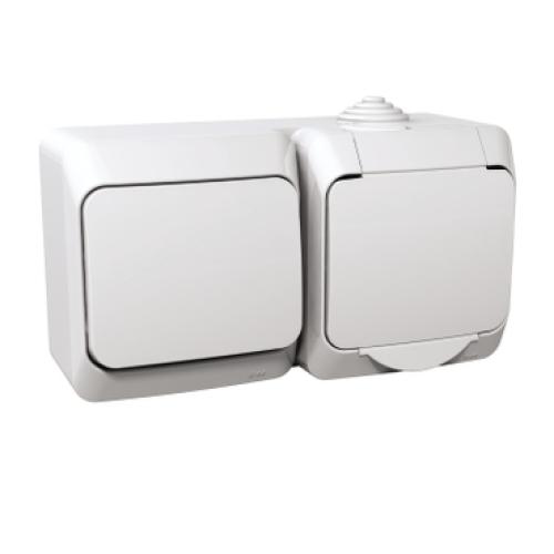 Schneider Cedar Plus zásuvka s vypínačem č.1 WDE000580