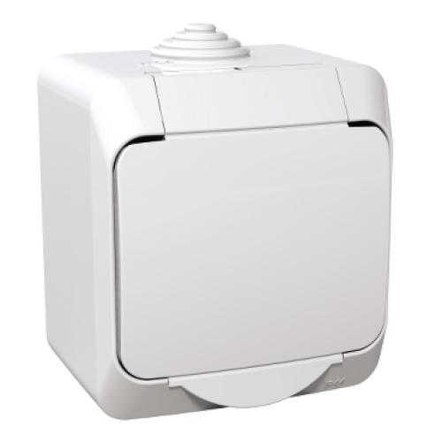 Schneider Cedar Plus zásuvka bílá WDE000540
