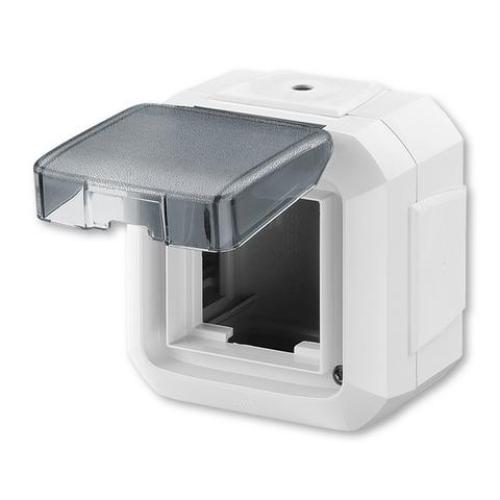 ABB Variant+ krabice nástěnná pro přístroje 45x45 IP54 bílá 3903N-C06541 B
