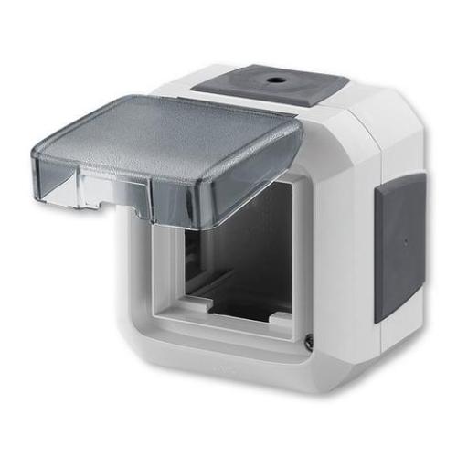 ABB Variant+ krabice nástěnná pro přístroje 45x45 IP54 šedá 3903N-C06541 S