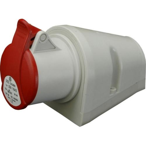 Zásuvka nástěnná SEZ IZN 1643 16A/4P/400V IP44