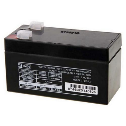 Olověný akumulátor EMOS B9652 12V 1,3Ah