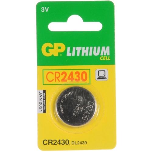 Knoflíková baterie GP CR2430 lithiová 1ks 1042243011
