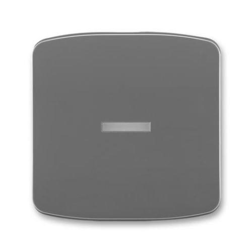 ABB Tango kryt vypínače s průzorem kouřová šedá 3558A-A653 S2