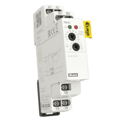 Přednostní/proudové relé Elko EP PRI-51/2 0,2-2A