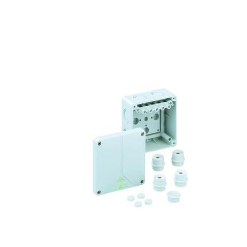 Krabice Spelsberg Abox 060-62 IP65 110x110x67mm se svorkovnicí 5P (4x25/4x4/3x6mm2)