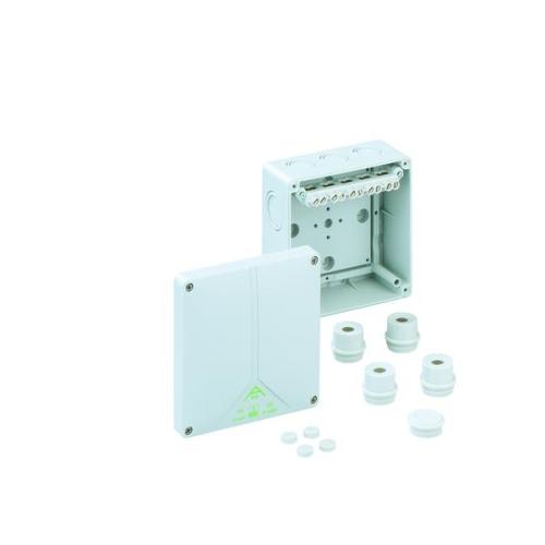 Krabice Spelsberg Abox 100-102 IP65 140x140x79mm se svorkovnicí 5P (4x4/4x6/4x10mm2)