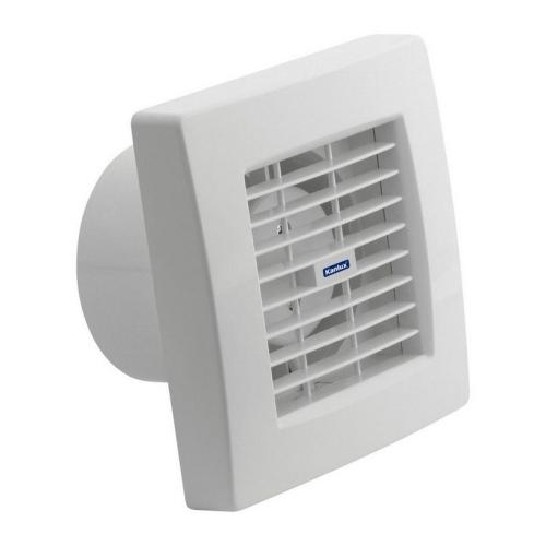 Koupelnový ventilátor Kanlux TWISTER AOL100T s automatickou žaluzií a časovým doběhem 70953