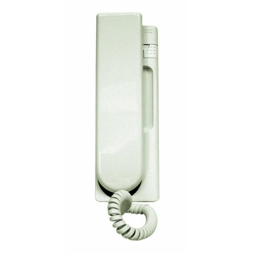 Domovní telefon bílý Urmet 1131 s tlačítkem pro odemykání
