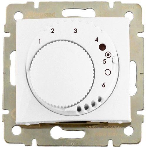 Legrand Valena termostat standard bílá 774226
