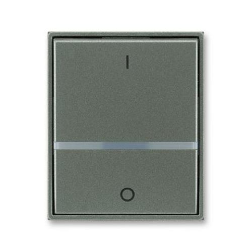 ABB Element,Time kryt vypínače s průzorem a potiskem antracitová 3558E-A00655 34