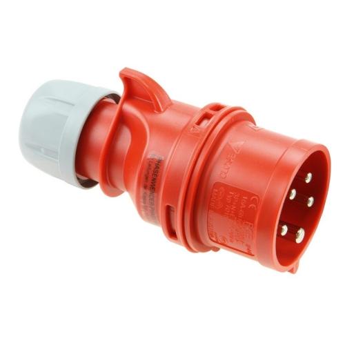 Vidlice se změnou fáze PCE 7025-6 32A/5P/400V IP44 Twist