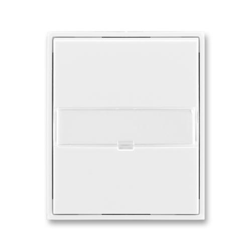 ABB Element,Time kryt vypínače s popisovým polem bílá/bílá 3558E-A00610 03