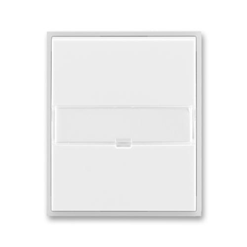 ABB Element,Time kryt vypínače s popisovým polem bílá/ledová bílá 3558E-A00610 01