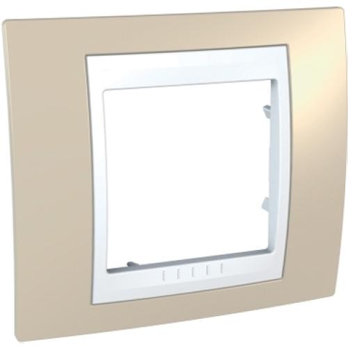 Schneider Unica Plus rámeček arena/polar MGU6.002.867