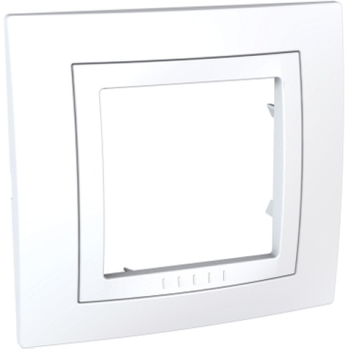 Schneider Unica Basic rámeček polar MGU2.002.18