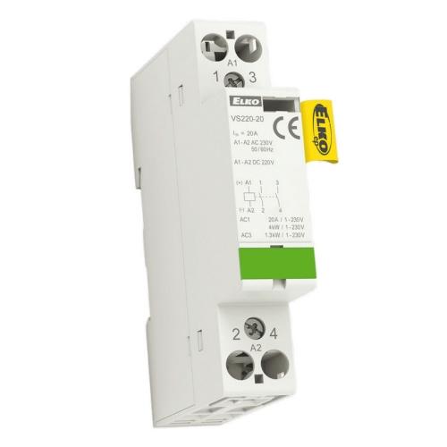 Instalační stykač Elko EP VS220-20 2x20A 230V