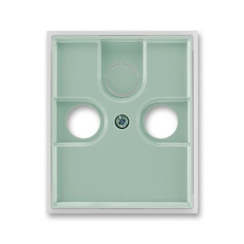 ABB Element,Time kryt zásuvky televizní agáve/ledová bílá 5011E-A00300 22