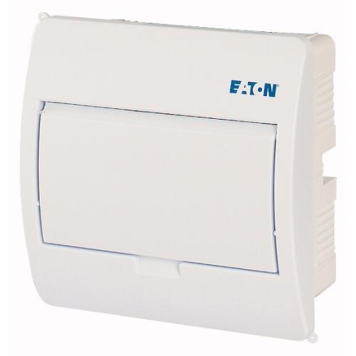 Rozvodnice pod omítku EATON BC-U-1/8-TW-ECO bílé dveře 8M 281697