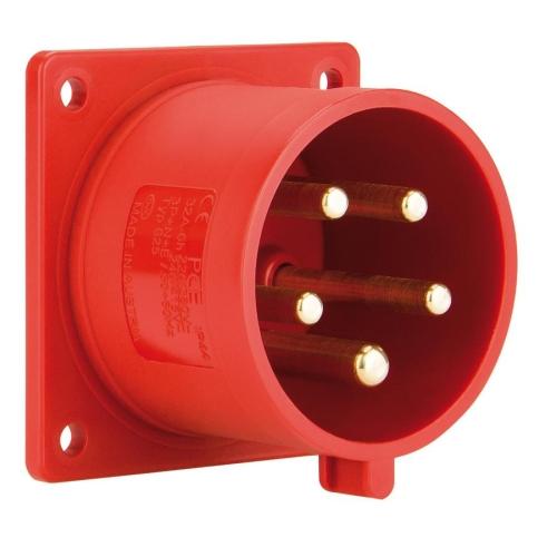 Přívodka vestavná PCE 625-6 32A/5P/400V IP44