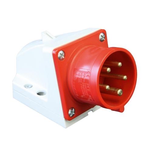 Přívodka nástěnná PCE 525-6 32A/5P/400V IP44