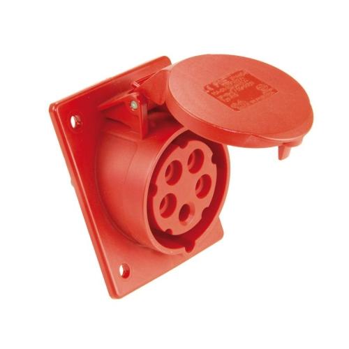 Zásuvka vestavná PCE 425-6 32A/5P/400V IP44