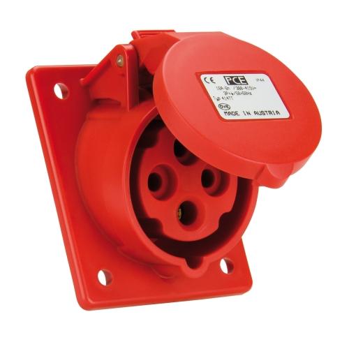 Zásuvka vestavná PCE 414-6 16A/4P/400V IP44