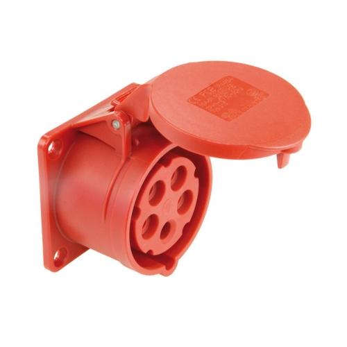 Zásuvka vestavná PCE 315-6 16A/5P/400V IP44