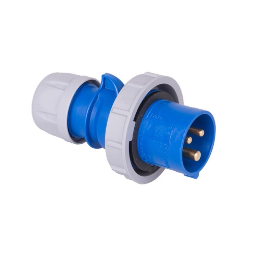 Vidlice PCE 0132-6 16A/3p IP67