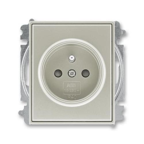 ABB Time, Time Arbo zásuvka starostříbrná 5519E-A02357 32
