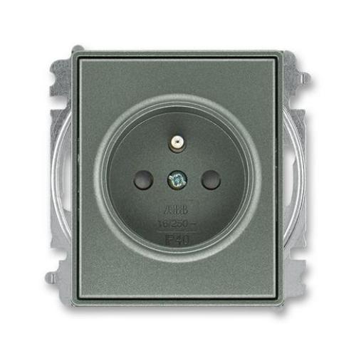 ABB Time, Time Arbo zásuvka antracitová 5519E-A02357 34