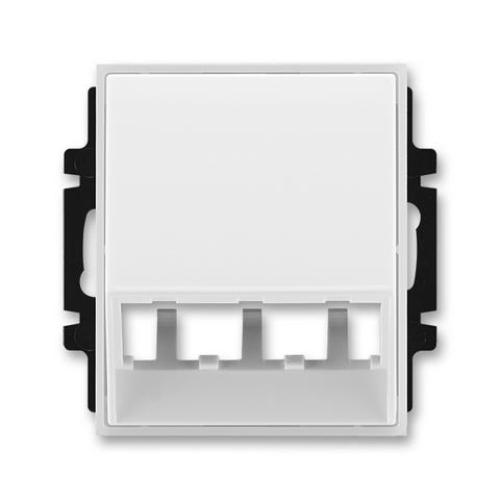 ABB Element,Time kryt datové zásuvky bílá/ledová bílá 5014E-A00400 01