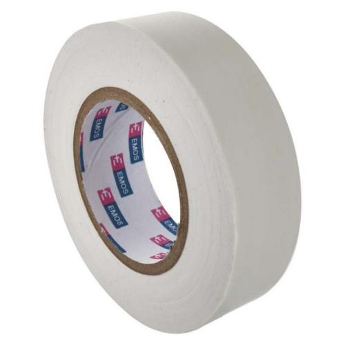 Izolační páska EMOS F61921 19mm x 20m bílá