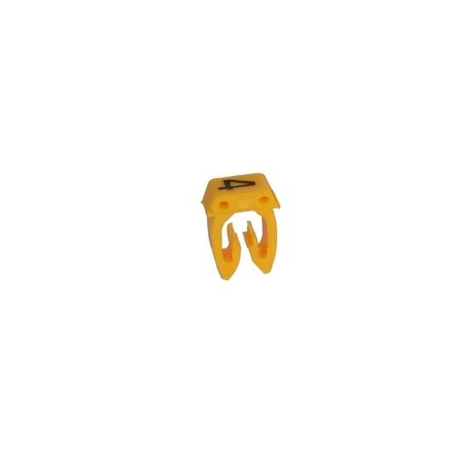 Legrand CAB3 návlečka značící 0,5-1,5mm2 4 žlutá 38214