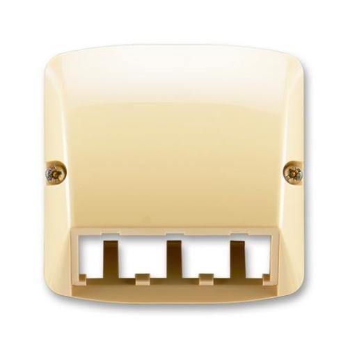 ABB Tango kryt datové zásuvky béžová 5014A-A00410 D pro Panduit Mini-Com