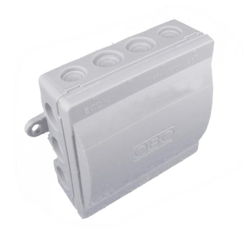 Krabice OBO ECO 14/5 IP54 100x100x42 se svorkovnicí šedá 2001013