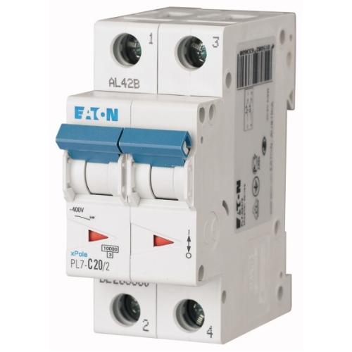 Jistič EATON PL7-20/2/B 20A PL7-B20/2 262766