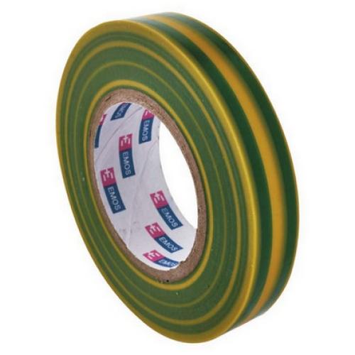 Izolační páska EMOS F61515 15mm x 10m zelenožlutá