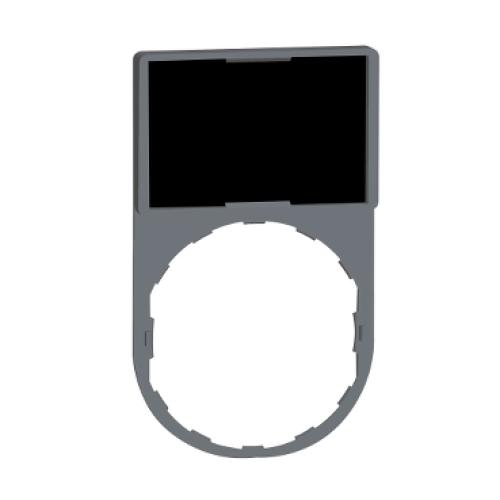Schneider Harmony držák štítků 30x50mm se štítkem 18x27mm neoznačený ZBY6101