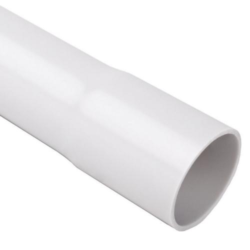 Plastová trubka pevná KOPOS 1520 KA 20mm světle šedá 3m