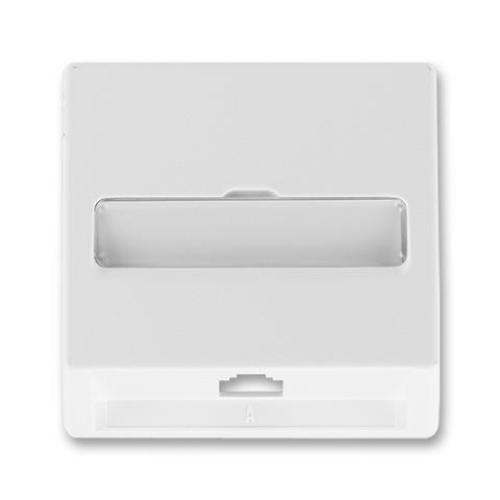 ABB Classic kryt zásuvky telefonní (pro přístroj 5013U) jasně bílá 5013C-A00213 B1