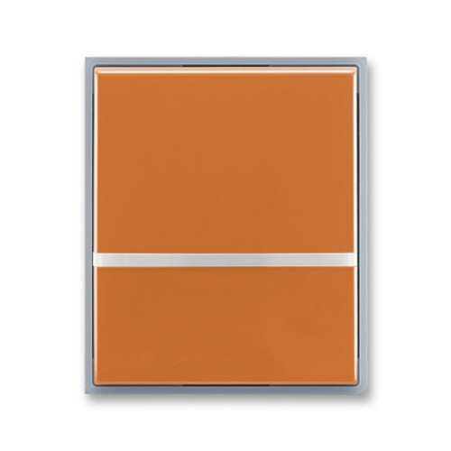 ABB Element,Time kryt vypínače s průzorem karamelová/ledová šedá 3558E-A00653 07