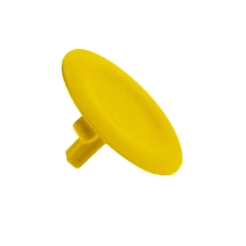 Schneider Harmony hmatník neoznačený žlutý ZBA5