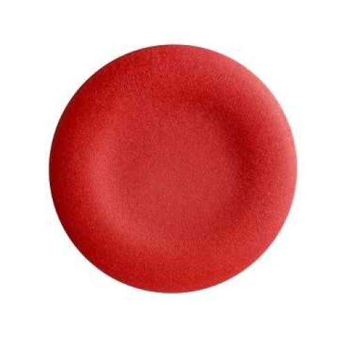 Schneider Harmony hmatník neoznačený červený pro kruhové tlač. ZBA4