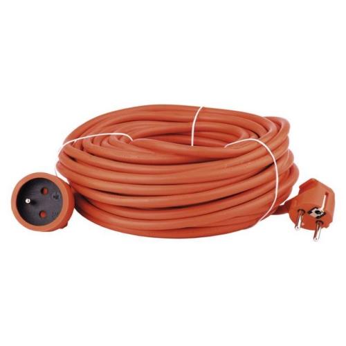 Prodlužovací kabel EMOS 20m/1zásuvka oranžová P01120 1901012000