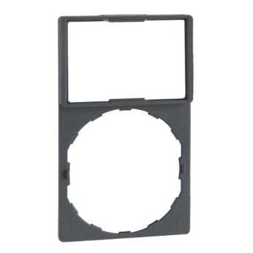 Schneider Harmony držák štítků 30x50mm se štítkem 18x27mm neoznačený ZBY6102