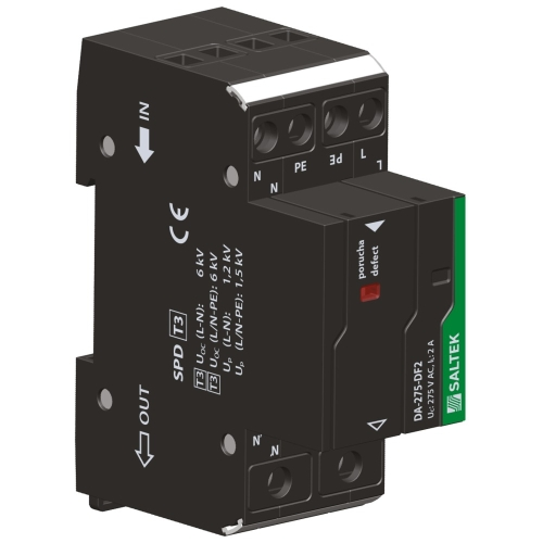 Přepěťová ochrana DA-275 DF2 s vf filtrem, 230V/2A