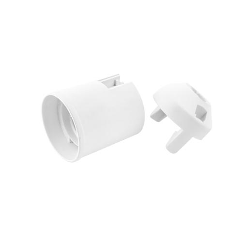Objímka LUHA E27/80 bílá hladká 1351-13400